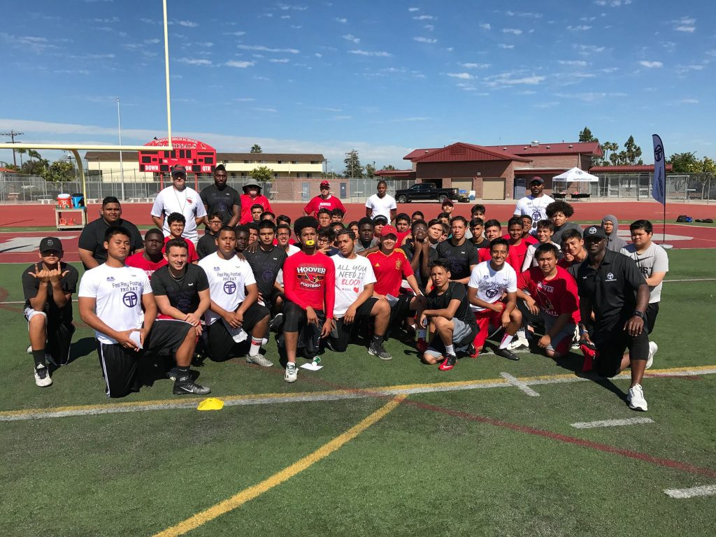 Hoover High Combine Testing