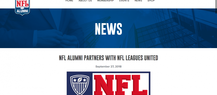 NFLLU and NFL Alumni Partner