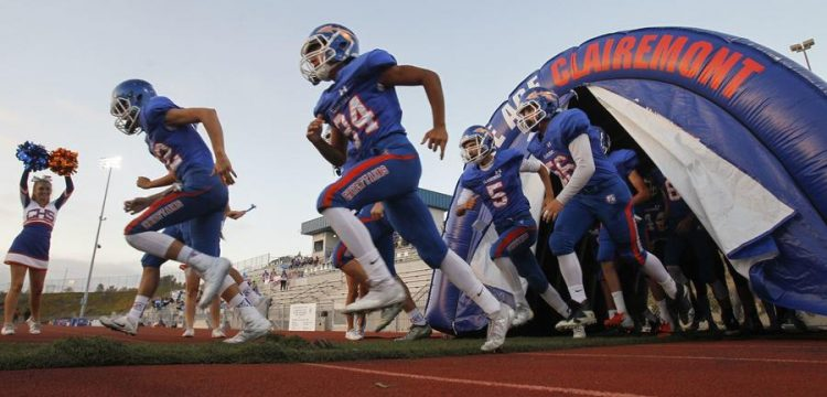 Clairemont High Football takes the field